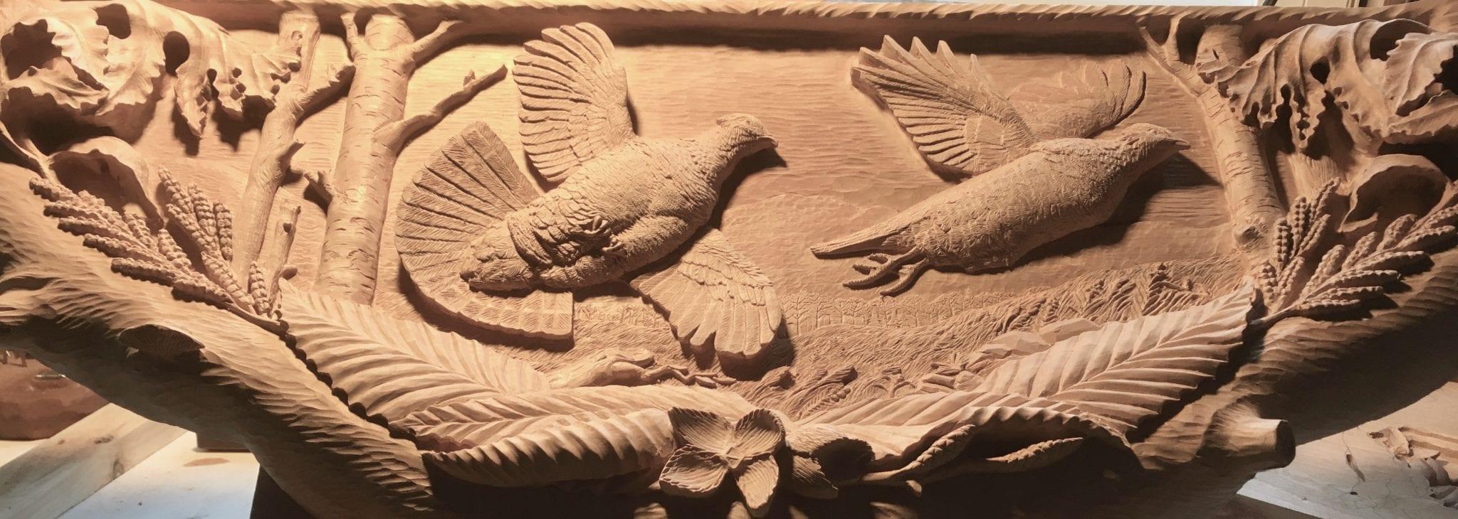 Carvings l post rustics adirondack furniture
